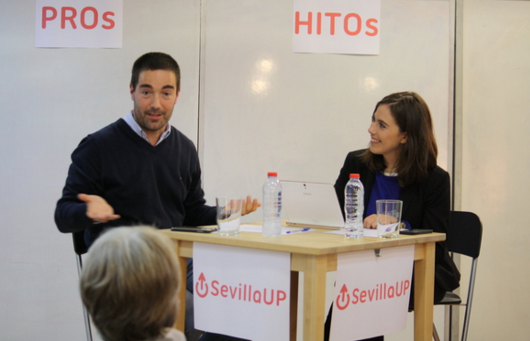 Video SevillaUP Minds empresa e inversión con Tom Horsey