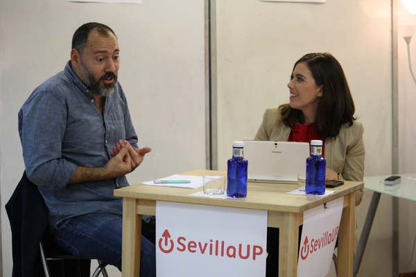 Video SevillaUP Minds 004 con Alejandro Rojas