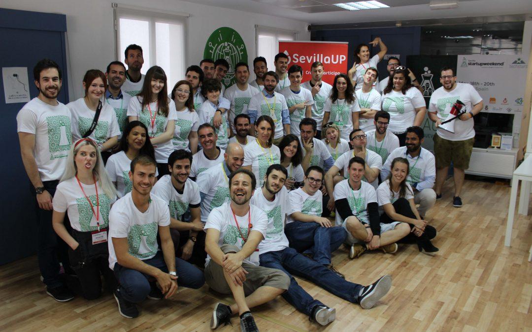 Una plataforma que crea candados de amor en puentes del mundo de forma virtual gana el primer Sevilla Startup Weekend International